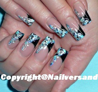 Nail Art Transfer Folien